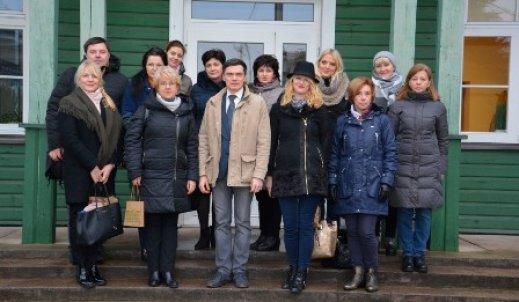 Z wizytą w Gimnazjum im. Konstantego Parczewskiego w Niemenczynie na Litwie!