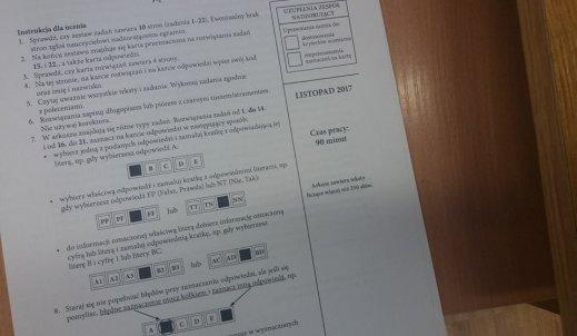 Stresujące egzaminy próbne