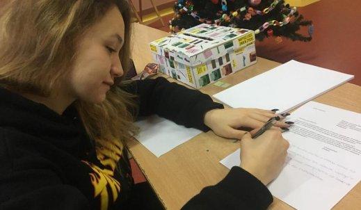 Maraton pisania listów w naszej szkole