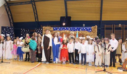 Za chwilę Święta – Spotkanie Jasełkowe  w naszej szkole.