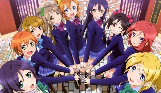 """Przyjaźń, pasja i marzenia – recenzja """"Love Live! School idol project!"""""""