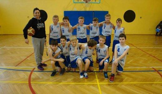 Turniej w koszykówkę w SP 11