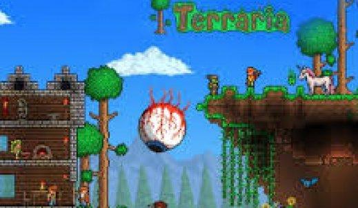 Gry Terraria dla wszystkich.