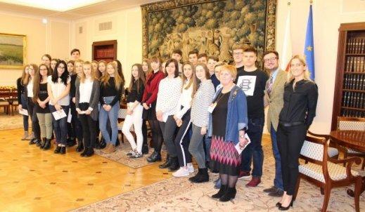 Nasze wspólne zwiedzanie polskiego Parlamentu
