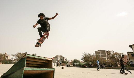 Skateboarding- sportem miejskim