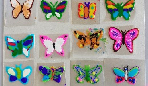 Pomaganie przez malowanie, czyli Dzień Motyla!