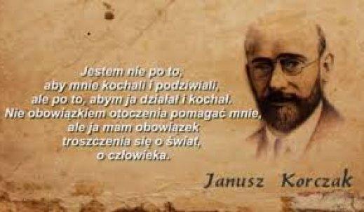 Janusz Korczak- wielki przyjaciel dzieci
