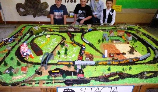 Pokaz makiety kolejowej