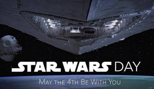 May the 4th be with you- Dzień Gwiezdnych Wojen