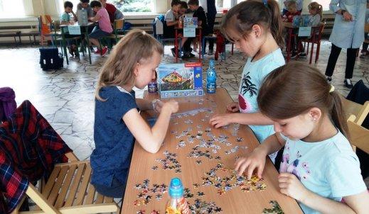 Maraton układania puzzli