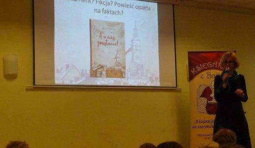 Spotkanie autorskie z Magdaleną Podbylską
