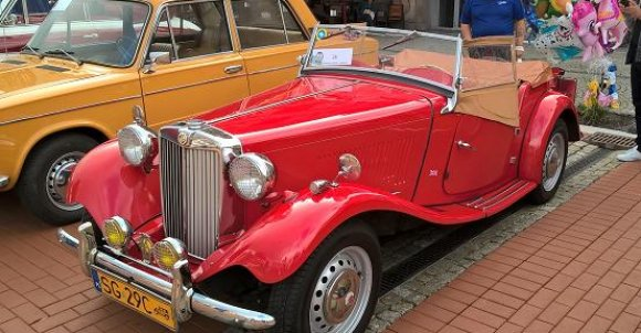 MG - brytyjska marka pojazdów