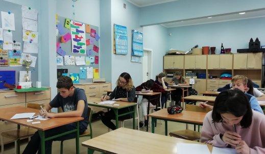 Etap szkolny Wojewódzkiego Konkursu Języka Polskiego w SP 11