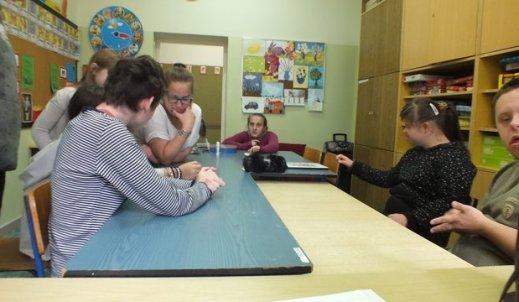 Moje spotkanie z wychowankami Ośrodka Szkolno- Wychowawczego.