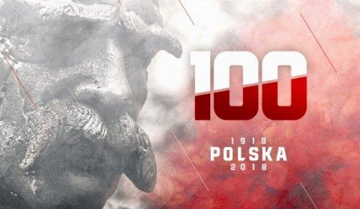 CAŁY ŚWIAT ŚWIĘTUJE Z NAMI 100-LECIE NIEPODLEGŁOŚCI POLSKI.
