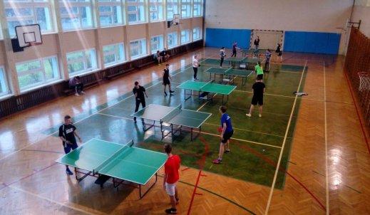 Powiatowy Turniej Tenisa Stołowego w grze indywidualnej