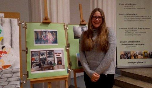 Wyróżnienie dla Oliwii Skuchy na XI Wojewódzkim Turnieju Artystycznym
