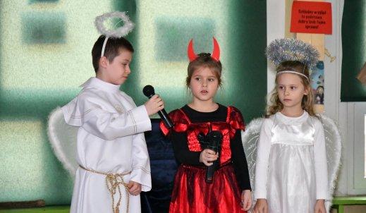 Szkolne jasełka w Szkole Podstawowej nr 11 w Poznaniu