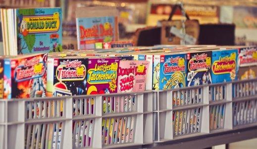Komiks – świat w obrazkach