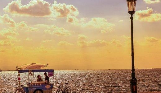 Greckie zachody słońca