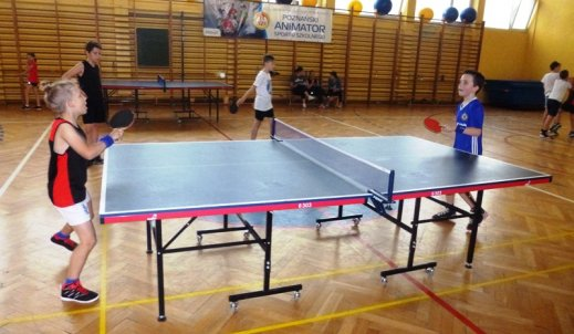 Turnieje tenisa stołowego