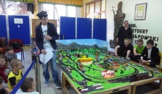 Pokaz makiety kolejowej i wyprawa pociągiem do Kołobrzegu