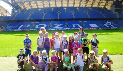 Wycieczka na stadion Lecha