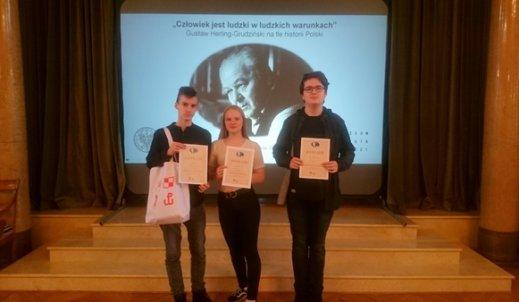 Uczniowie CE finalistami ogólnopolskiego konkursu!