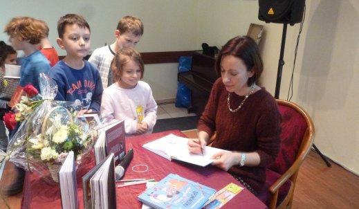 Joanna Wachowiak – za nami spotkanie z pisarką