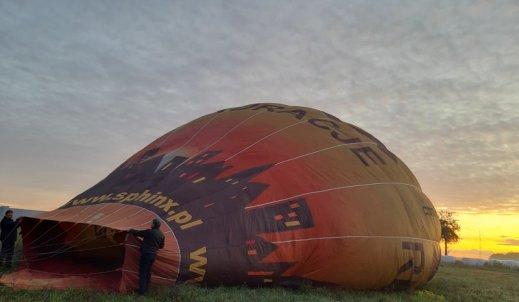 Balonem w przestworzach