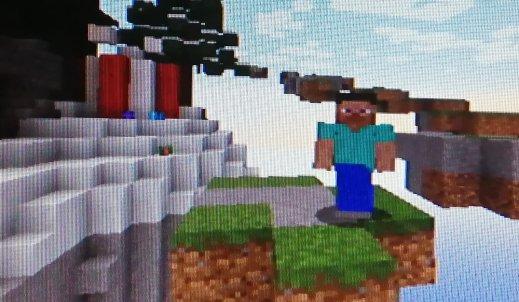 Minecraft – kwadratowy świat