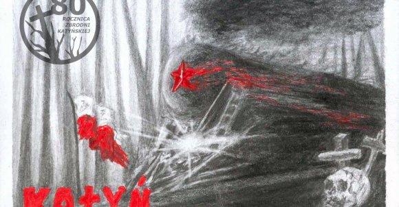Połączenie prac: Julii Fehlau (logo) i Katarzyny Nadrowskiej (karta).