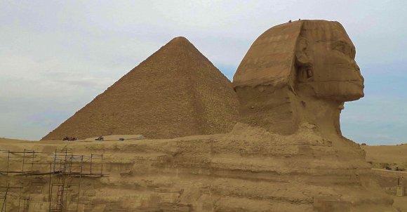 EGIPT- Wielki Sfinks